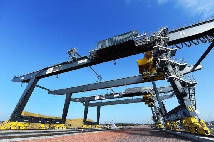 Construction d'un nouveau terminal d'autoroute ferroviaire à Bettembourg - Dudelange